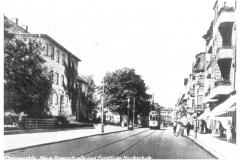 Bild 1: Straßenbahn LINDNER/SIEMENS, ab 1910 in der Neuen Kreuzstraße (W. Günnel - Plauen)
