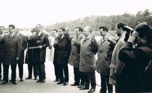 SZME - Übergabe von Betriebsbereichen (04.10.1969) - Gäste der Eröffnung